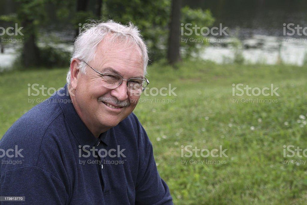 Man Outdoors royalty-free stock photo