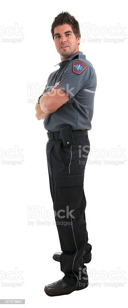 Man Paramedic royalty-free stock photo