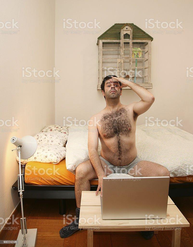 man royalty-free stock photo