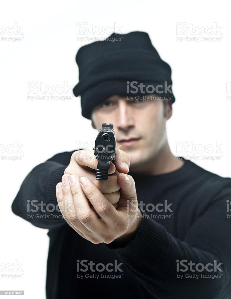 Man pointing at you royalty-free stock photo
