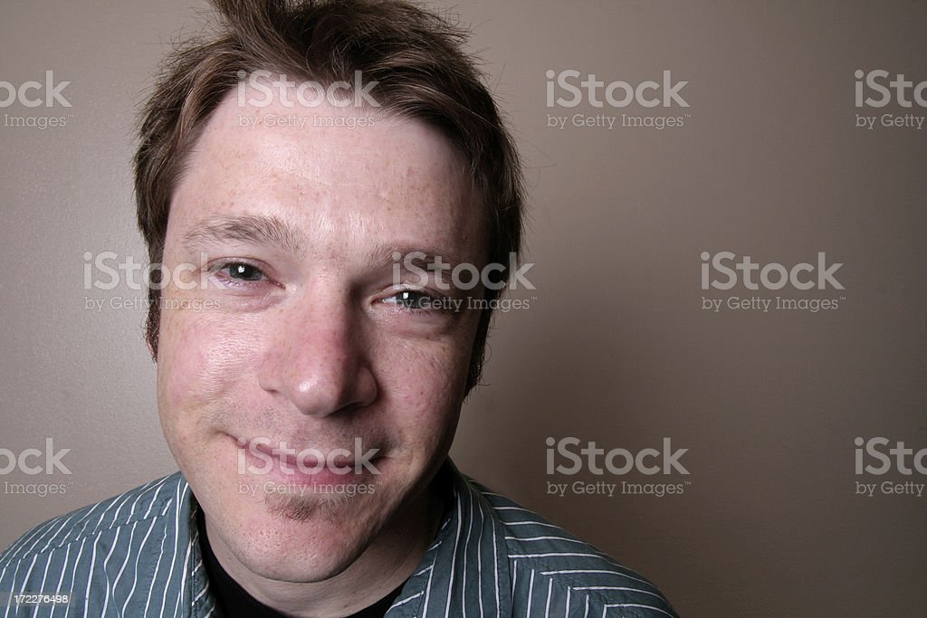 man portrait 2 royalty-free stock photo