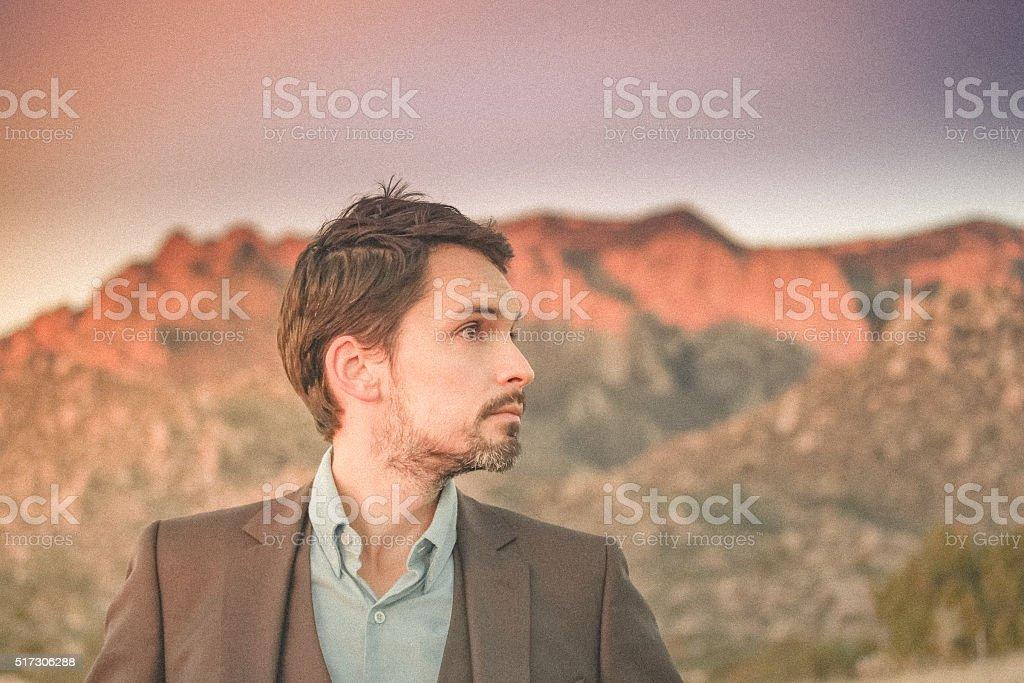 man portrait business stock photo