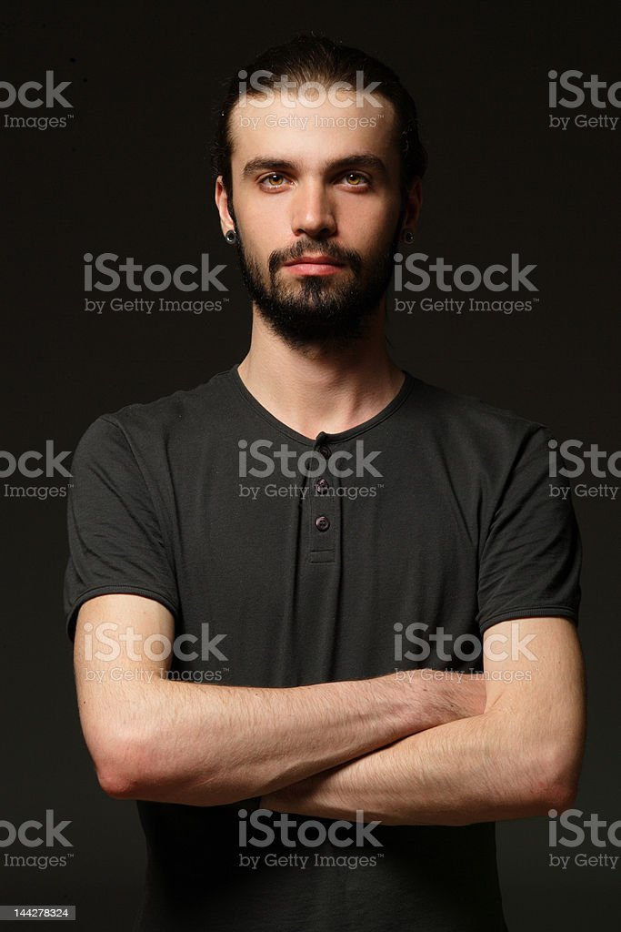 Man portrait royalty-free stock photo