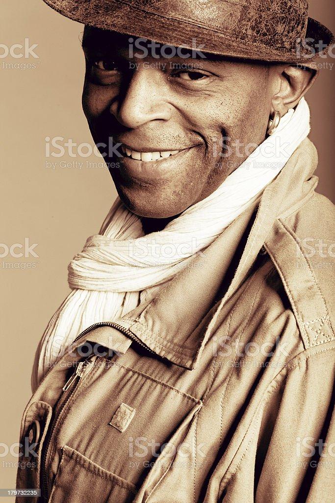 Man portrait royalty-free stock photo