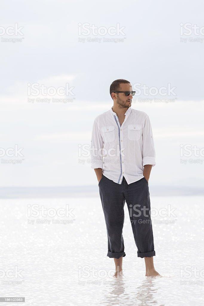 man posing royalty-free stock photo