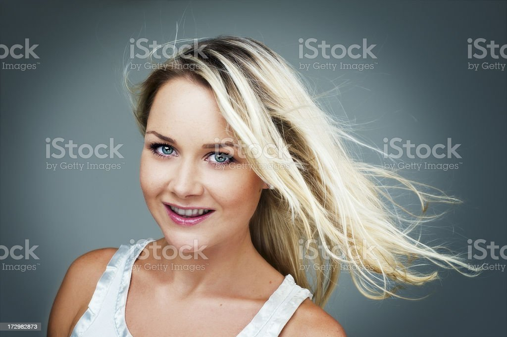 man putting in wireless modem royalty-free stock photo