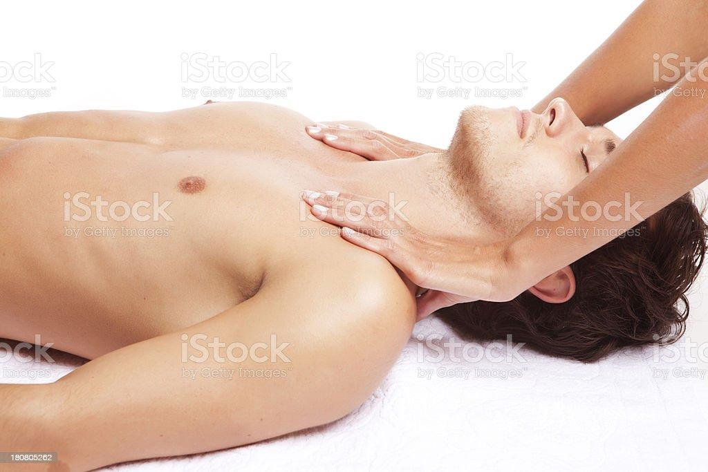 Man Relaxing royalty-free stock photo