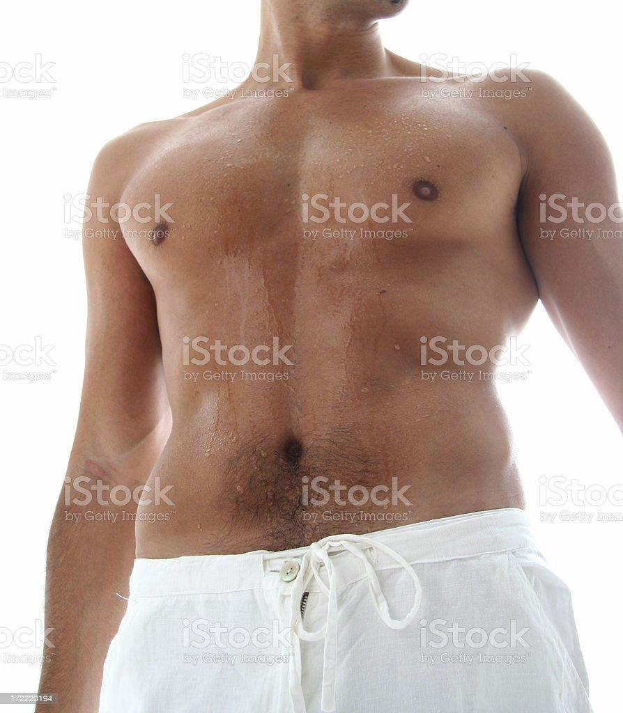 Man Spa royalty-free stock photo