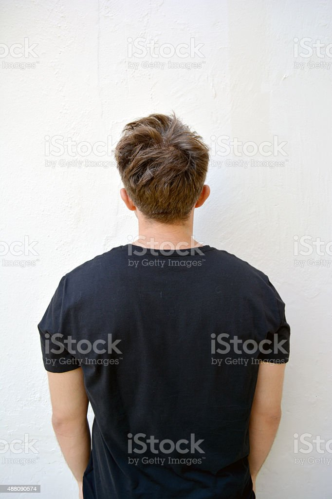 Man Standing stock photo