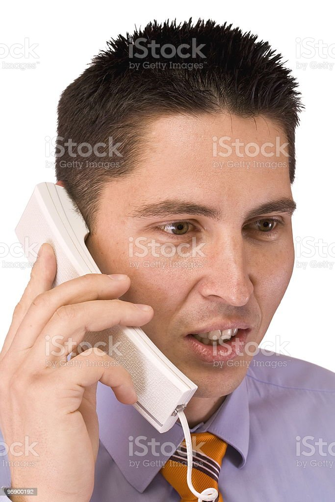 man talking stock photo
