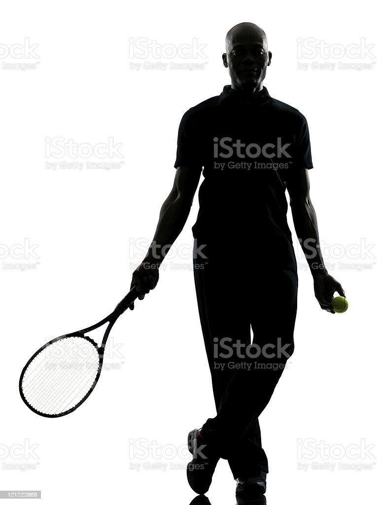man tennis player royalty-free stock photo