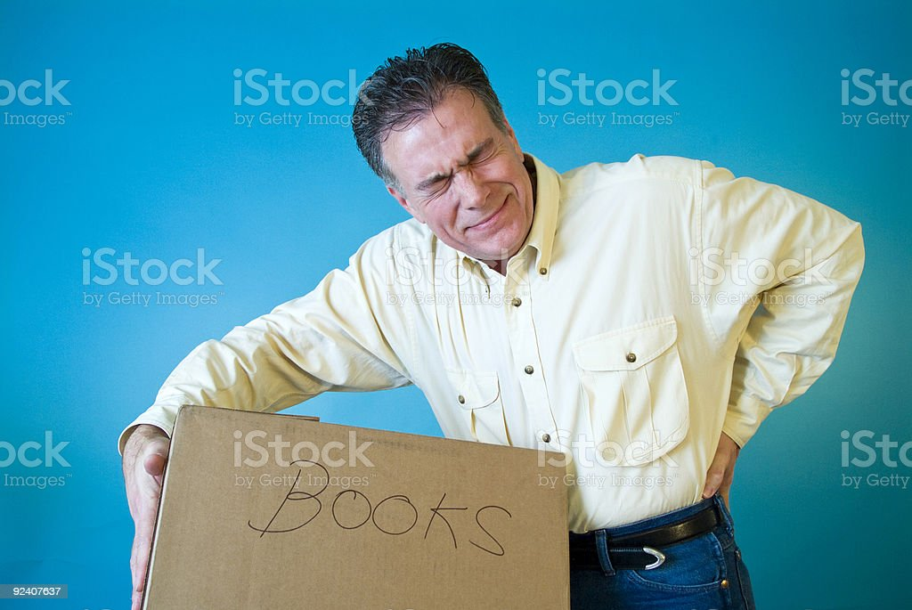 Man That Hurts! stock photo