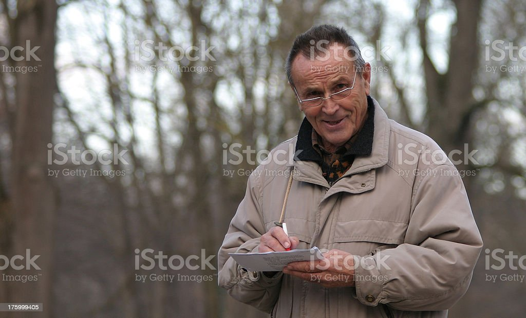 Man with a smile royalty-free stock photo