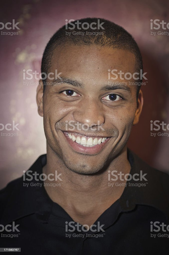 Man With Beautiful Smile stock photo
