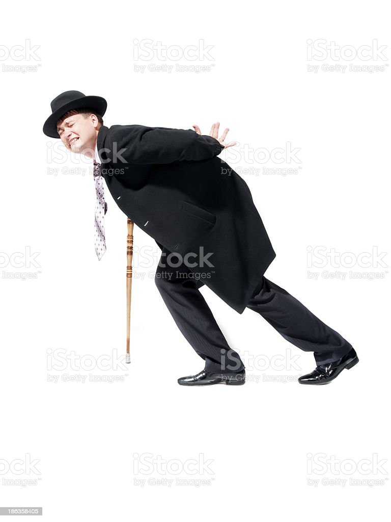 man with pain royalty-free stock photo