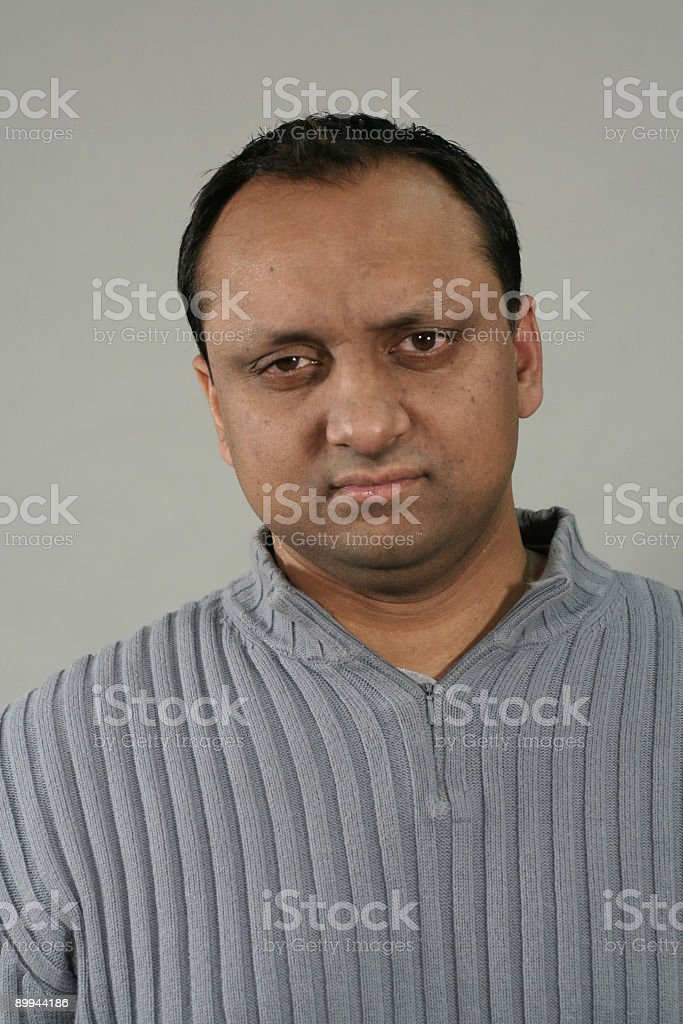 man worried royalty-free stock photo