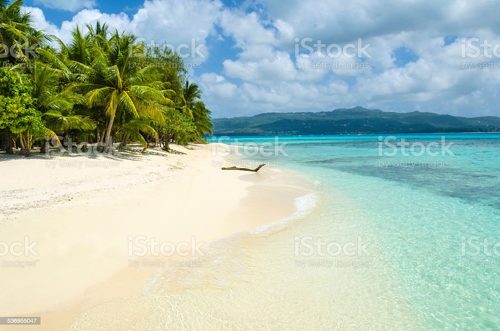 Managaha White Sand stock photo