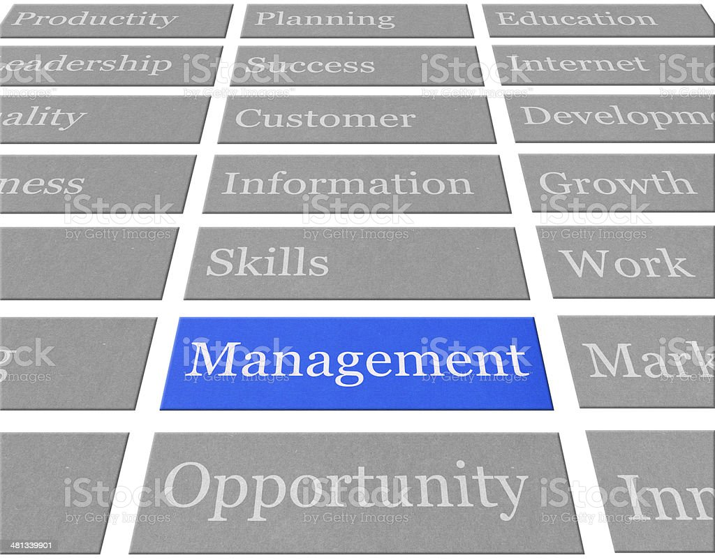 Management stock photo