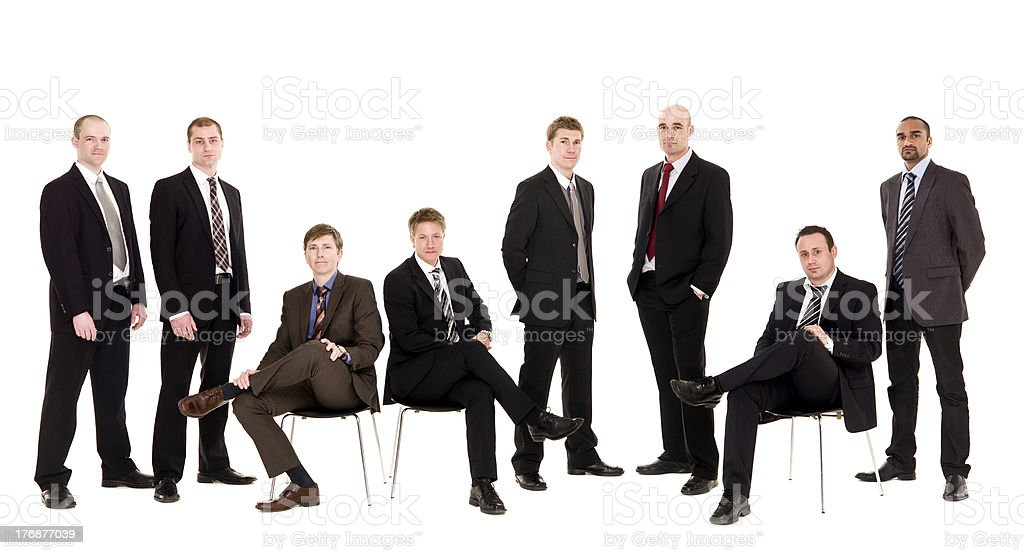 Management team stock photo