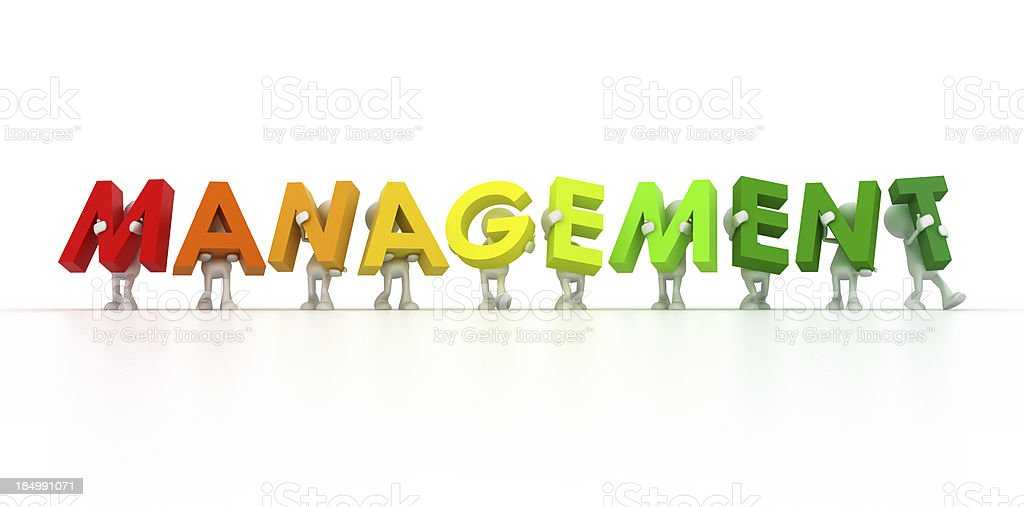 Management team royalty-free stock photo