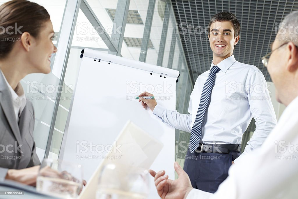 Manager at work royalty-free stock photo