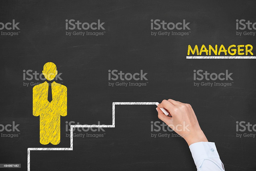 Manager Concept stock photo
