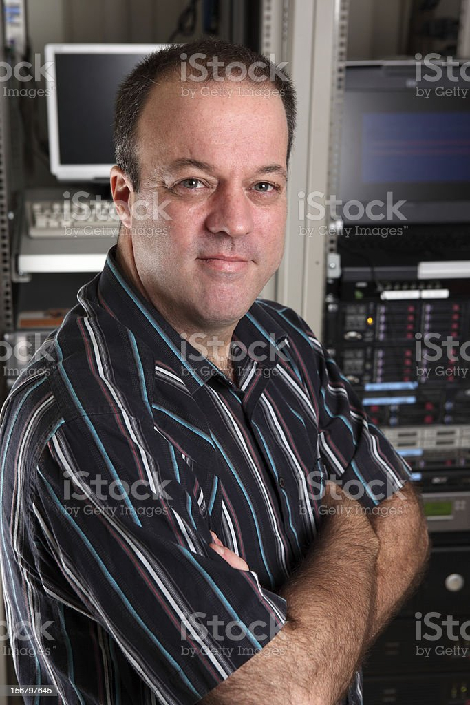 IT Manager royalty-free stock photo