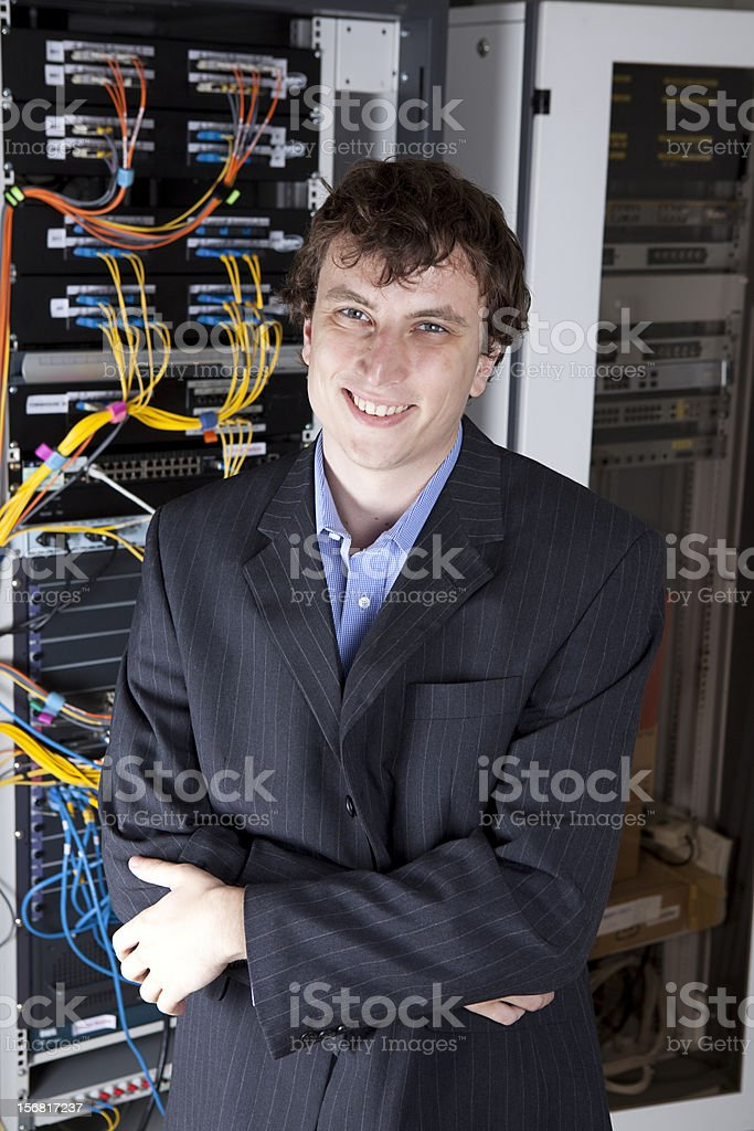IT Manager stock photo