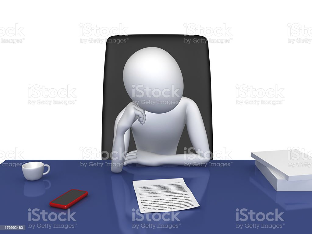 Manager royalty-free stock photo