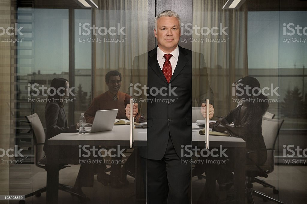 CEO & managers royalty-free stock photo