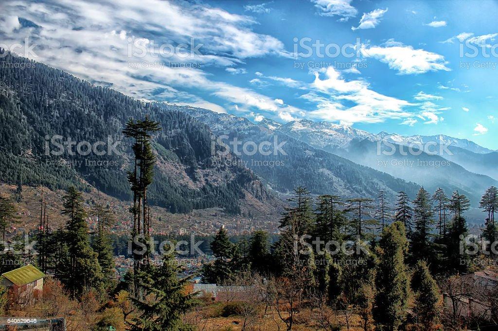 Manali, Himachal Pradesh stock photo