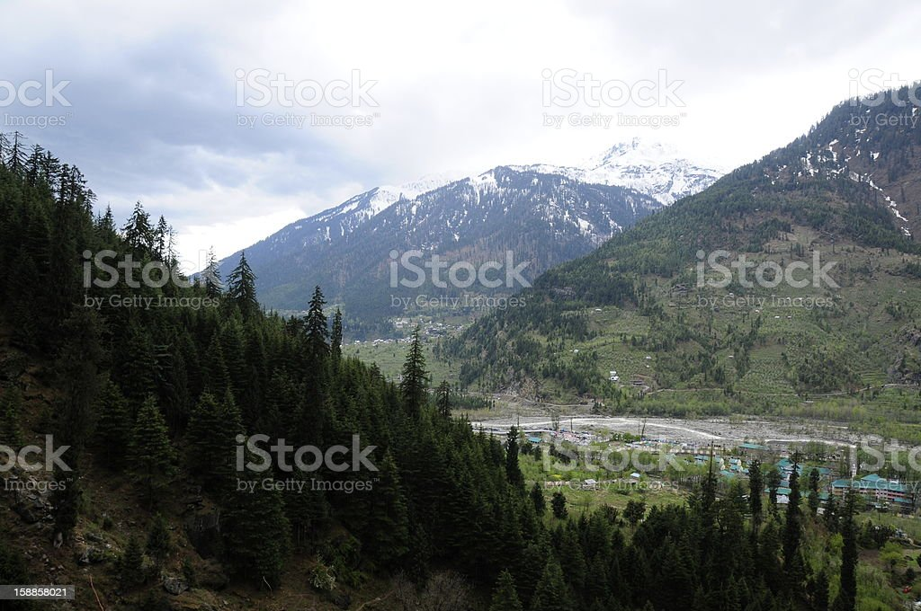 Manali,Himachal Pradesh,India. stock photo