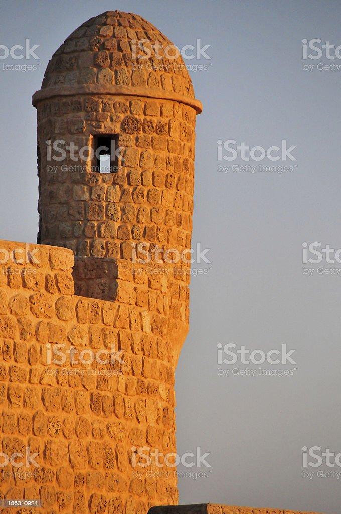 Manama, Bahrain, Middle East: fort guerite stock photo