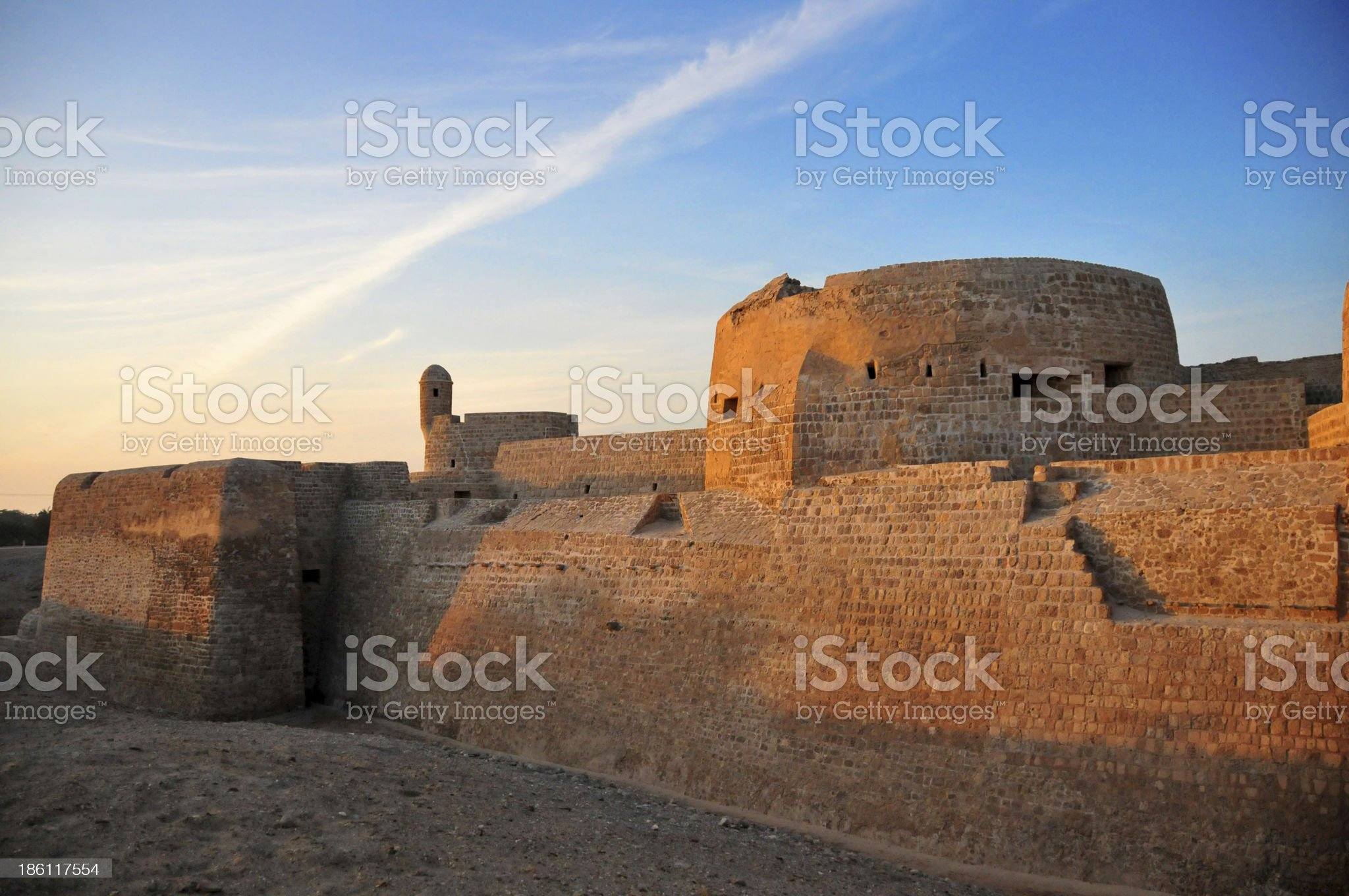 Manama, Bahrain: Portugal Fort royalty-free stock photo