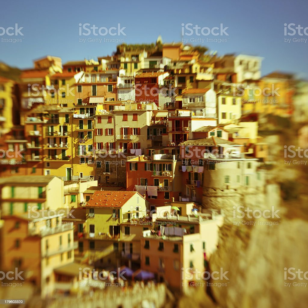 Manarola, Cinque Terre, Italy royalty-free stock photo