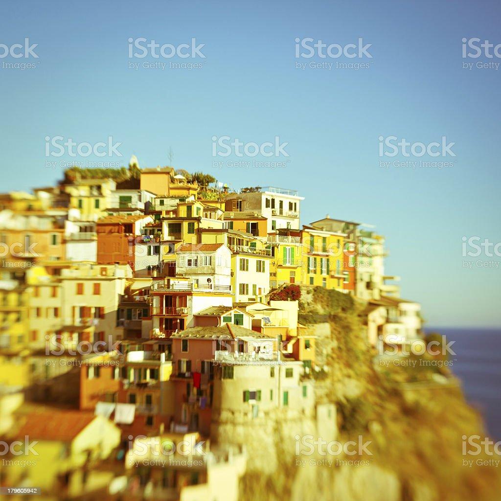 Manarola, Cinque Terre, Italy royalty-free stock photo