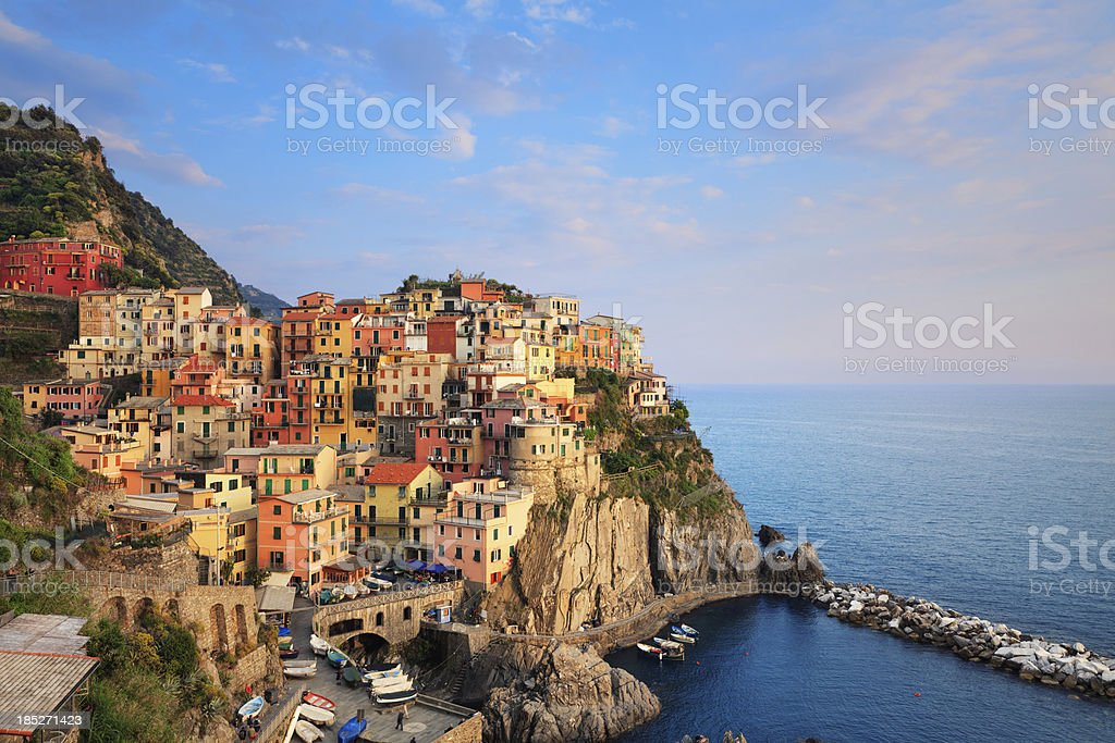 Manarola Cinque Terre stock photo