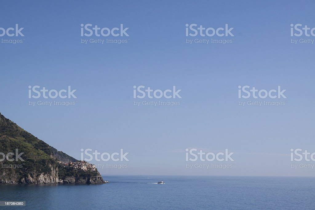Manarola, Cinqueterre - Liguria Italy stock photo