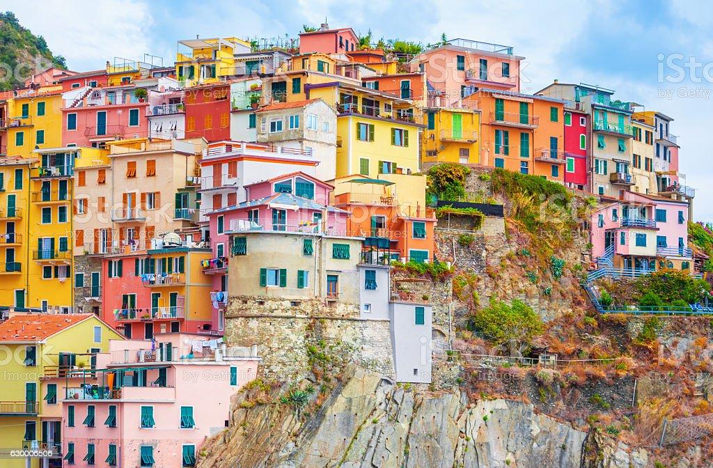Manarola Italy stock photo