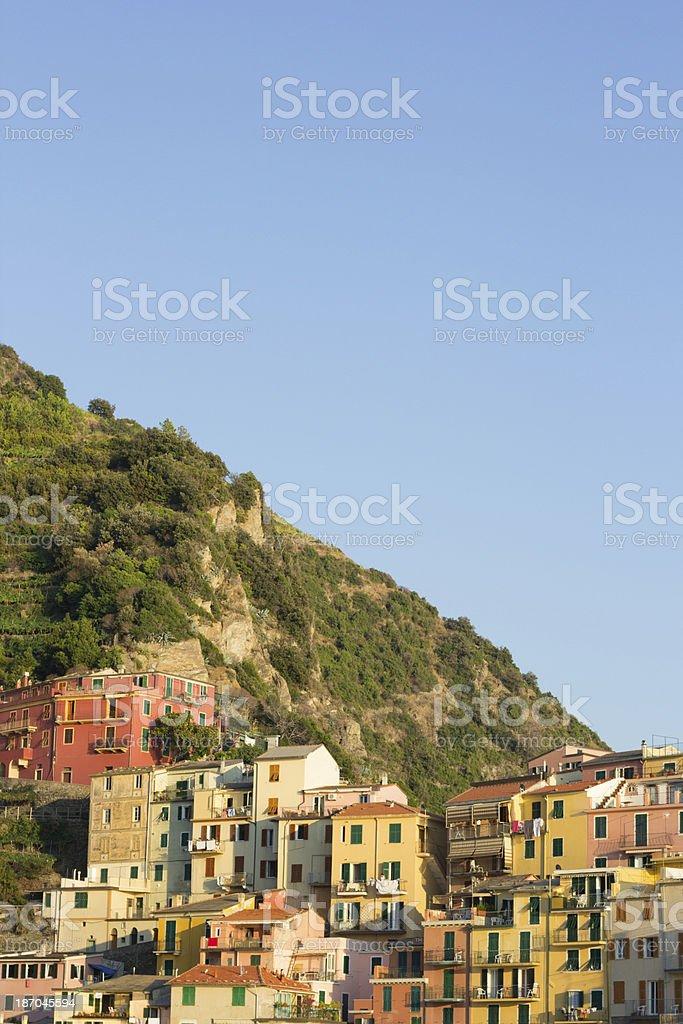 Manarola on the Cinque Terre, Italy royalty-free stock photo