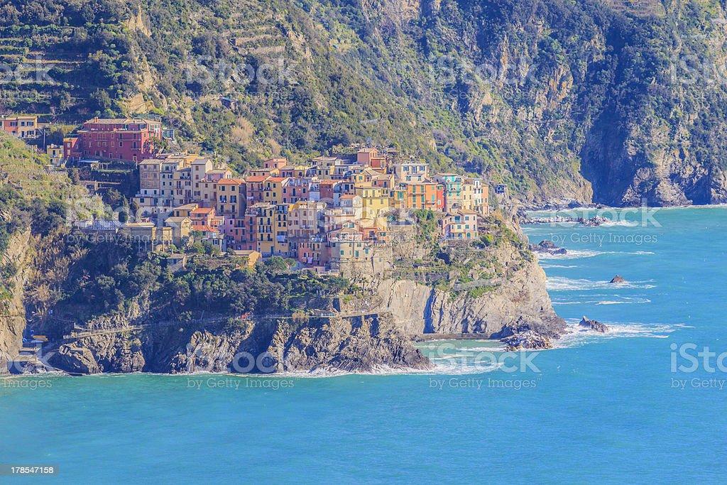 Manarola,Cinque Terre,Italy. stock photo
