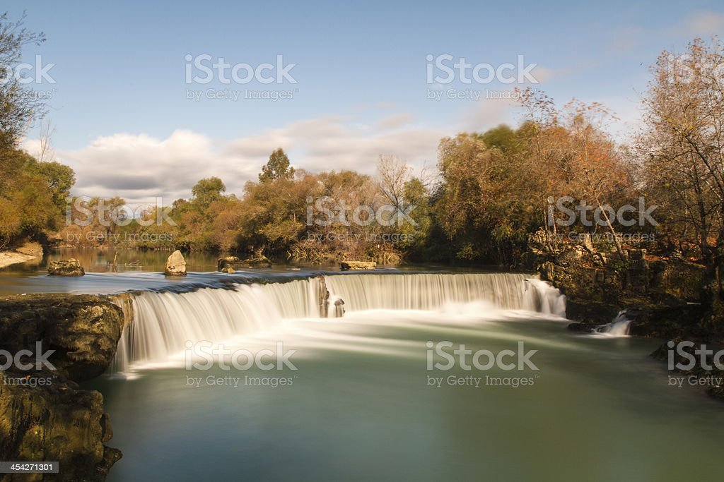 Manavgat Waterfall ( ?elalesi ) royalty-free stock photo