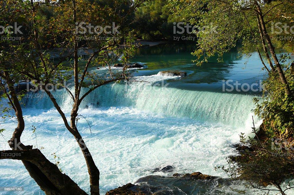 Manavgat Водопад Стоковые фото Стоковая фотография