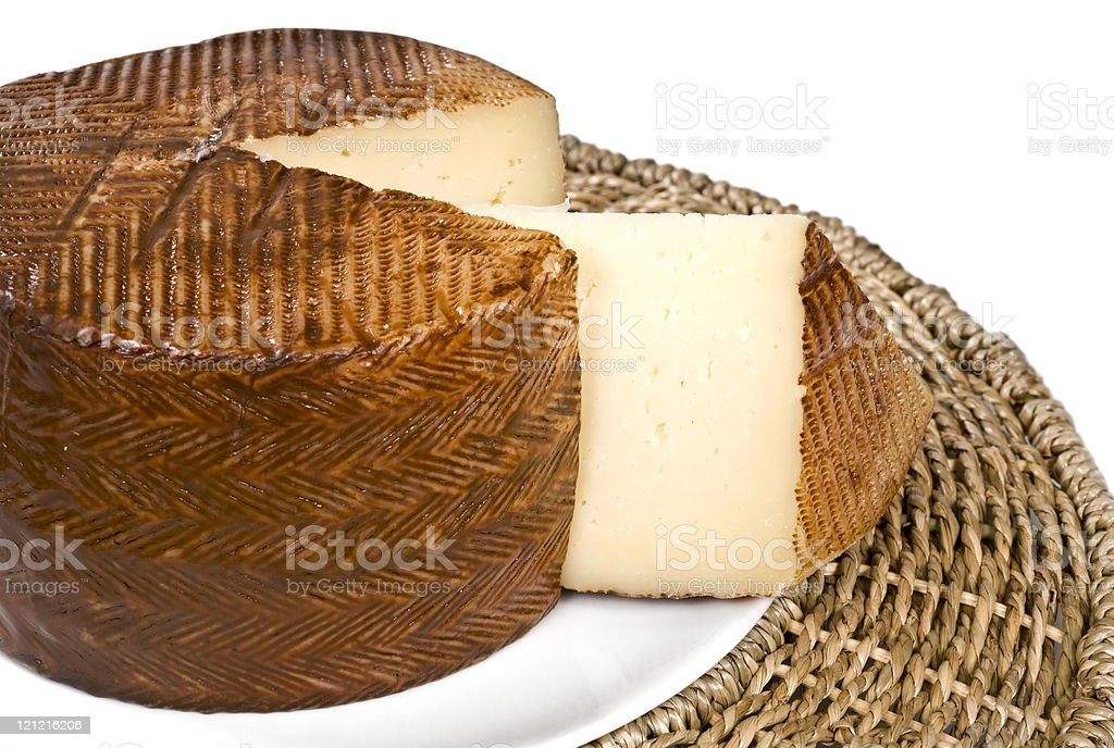 Manchego Cheese royalty-free stock photo