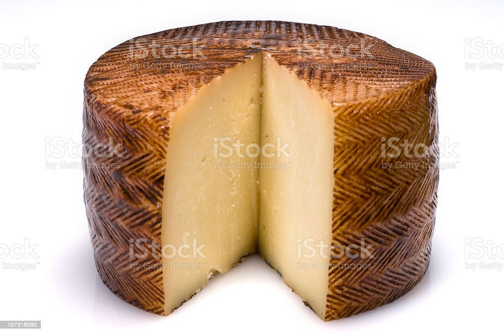 Manchego Cheese stock photo