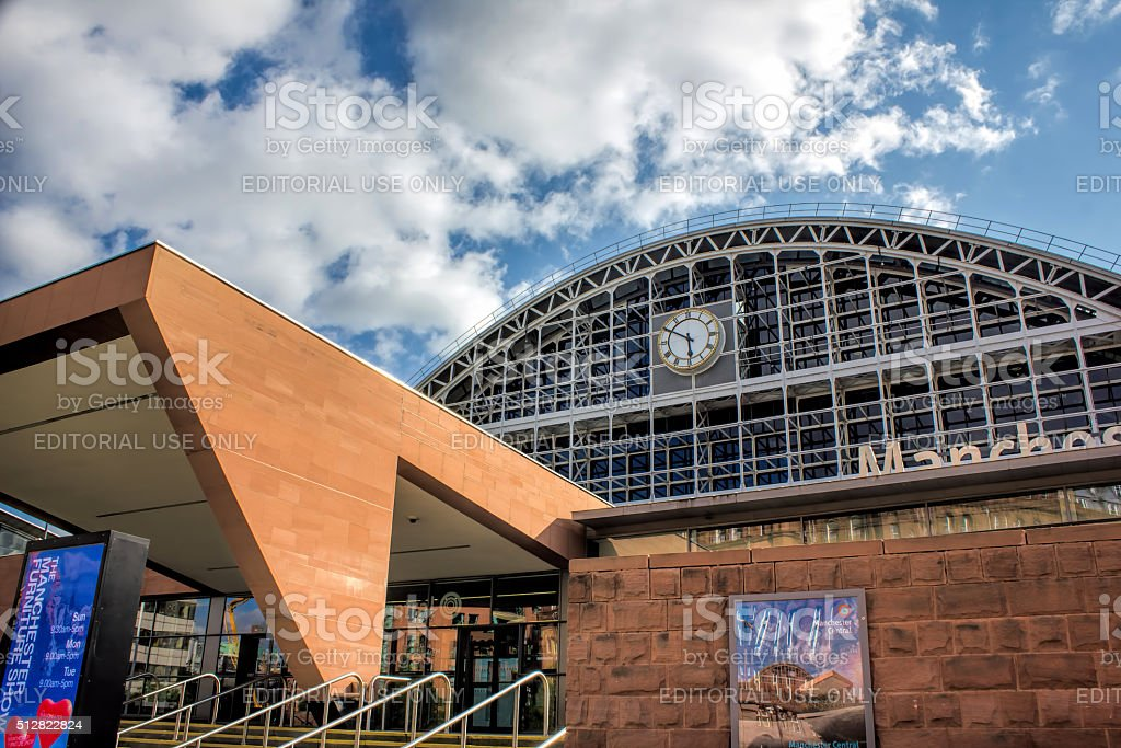 Manchester Central Convention Complex. Manchester, UK. stock photo