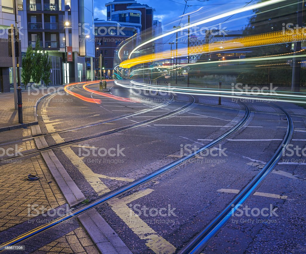 Manchester City Streets stock photo