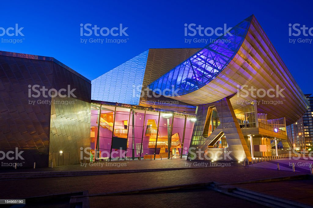 Manchester England UK Lowry Centre stock photo