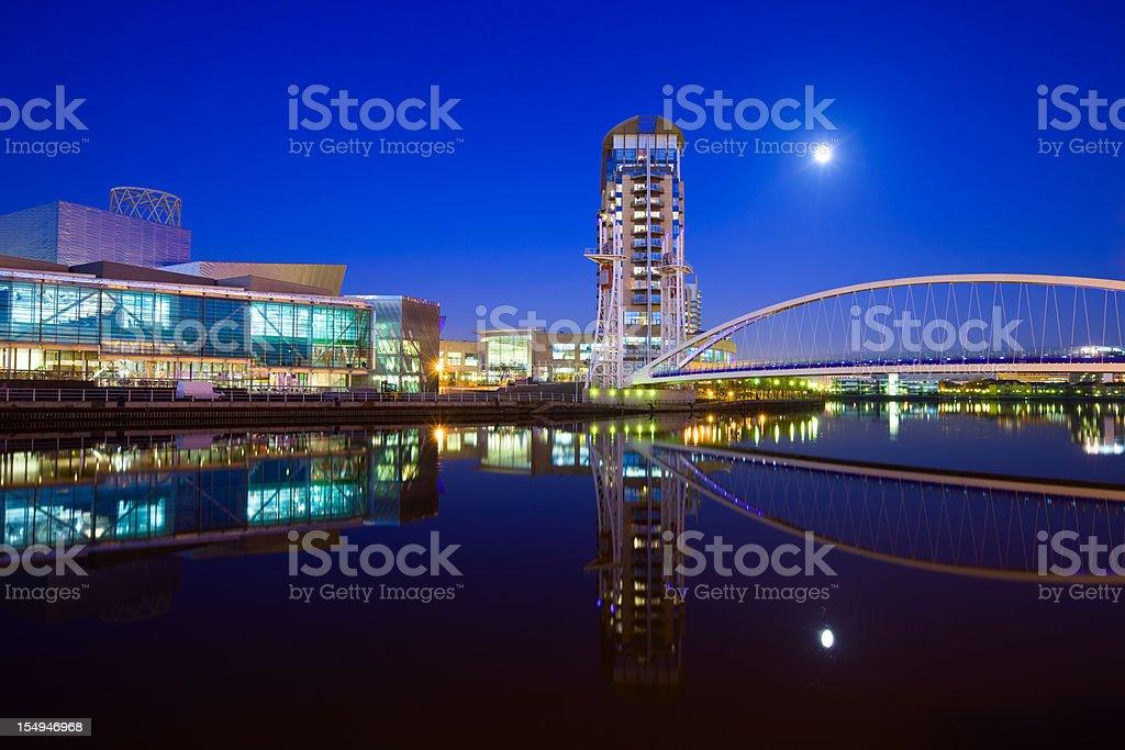 Manchester, England, UK stock photo