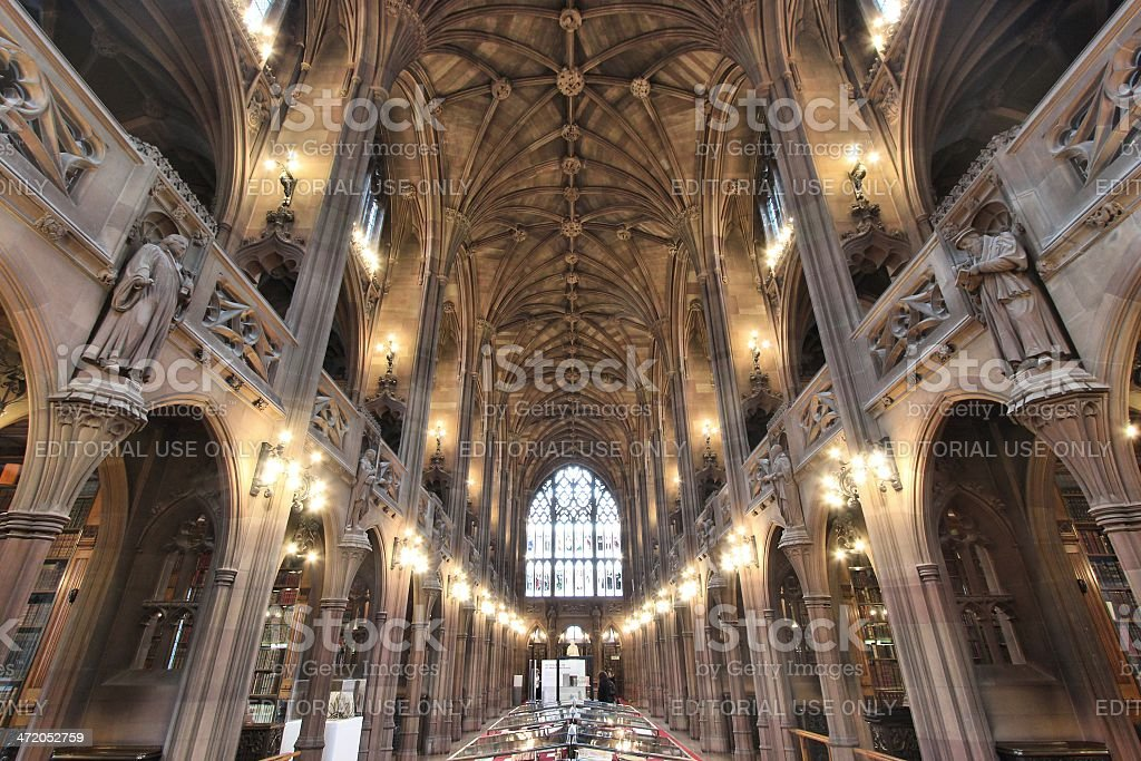Manchester library royalty-free stock photo